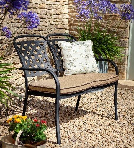 Hartman Berkeley 2-Seater Bench with Cushion