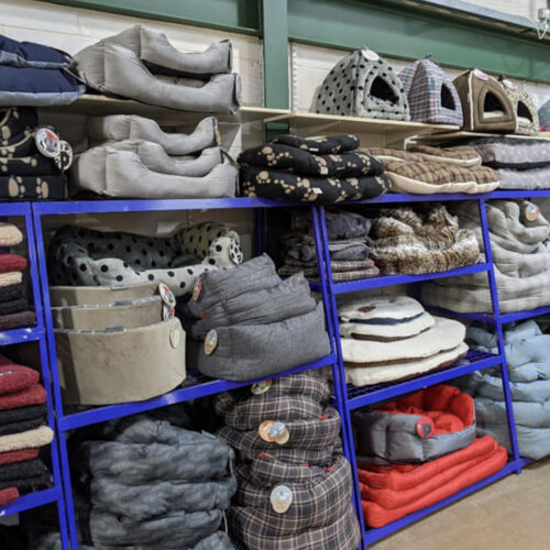 dog and cat beds for sale in garden centre alton
